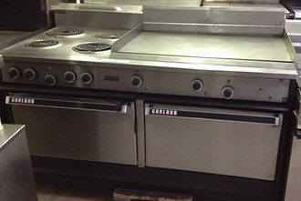 GARLAND 60in ELECTRIC RANGE W/ GRIDDLE