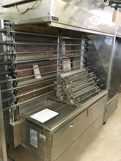 OLD HICKORY ROTISSERIE OVEN