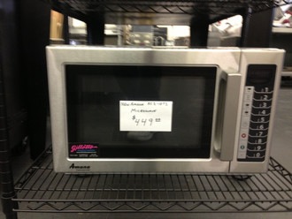 AMANA RCS10TS COMMERCIAL MICROWAVE