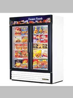 NEW 2 DOOR FREEZER MERCHANDISER