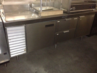 "DELFIELD 74"" WORKTOP COOLER"