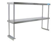NEW 27in ADJUSTABLE DOUBLE OVERSHELF