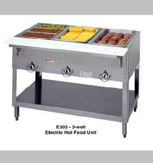 3 BAY ELECTRIC STEAMTABLE