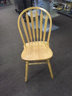 Light Wood Windsor Back Chair