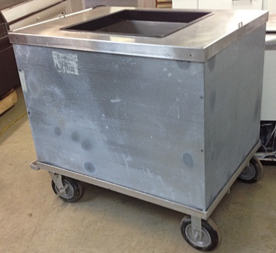 ICE CREAM CART Gillette Restaurant Equipment - Dipping cabinet
