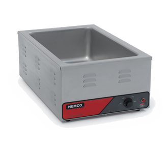 "Countertop Warmer, accepts a 12"" x 20"" full size pan or fractional size pans, adjustable thermostat, cycling indicator pilot light, stainless steel construction, 1200 watts, NEMA 5-15P, 120v/60/1ph, 10 amps, cETLus, NSF"