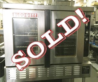 BLODGETT DFG-200 FULL SIZE GAS CONVECTION OVEN BAKERY DEPTH
