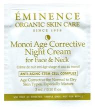 Eminence Monoi Age Corrective Night Cream for Face & Neck Trial Sample