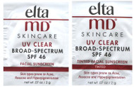 EltaMD UV Clear SPF 46 Original and Tinted Trial Sample Pack