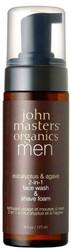 John Masters Organics Eucalyptus & Agave 2-in-1 Face Wash + Shave Foam