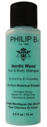 Philip B Nordic Wood Hair & Body Shampoo Travel Sample