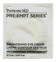 Perricone MD PRE:EMPT Series Brightening Eye Cream Trial Sample
