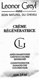 Leonor Greyl 'Crème Régénératrice' Conditioning Mask Trial Sample