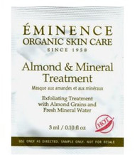 Eminence Almond & Mineral Treatment Trial Sample
