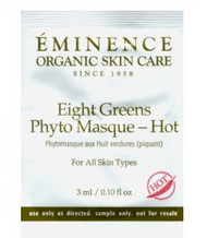 Eminence Eight Greens Phyto Masque -Hot Trial Sample
