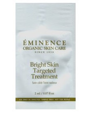 Eminence Bright Skin Targeted Treatment Trial Sample