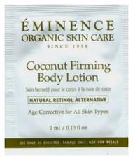 Eminence Coconut Firming Body Lotion Trial Sample
