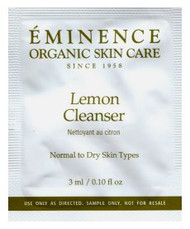 Eminence Lemon Cleanser Trial Sample