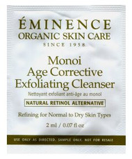 Eminence Monoi Age Corrective Exfoliating Cleanser Trial Sample