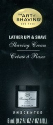 The Art of Shaving Shaving Cream Trial Sample - Unscented
