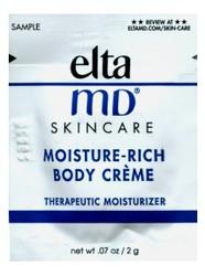 EltaMD Moisture-Rich Body Creme Trial Sample