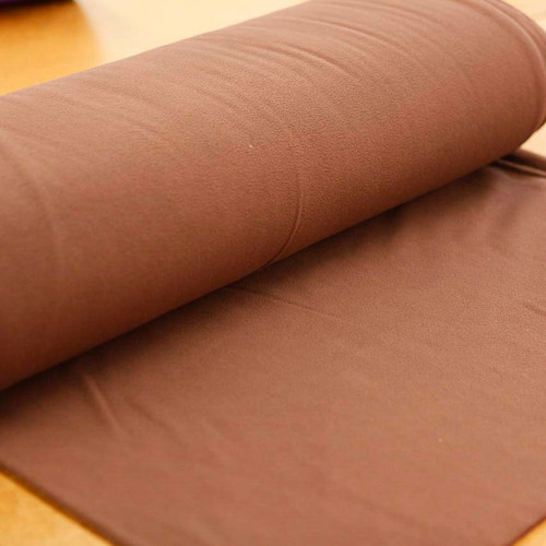 Brown Fleece Fabric