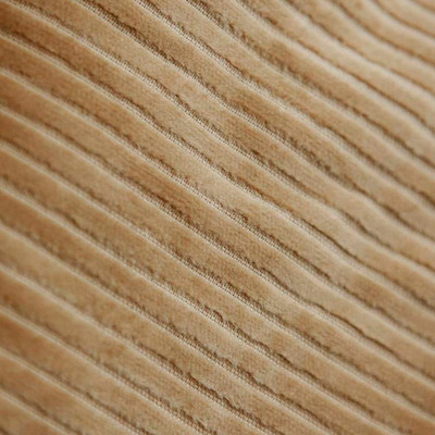 Golden Tan Microfiber Corduroy Upholstery Fabric By The Yard 3 Wale 54 Inch