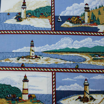 Beacons Of Light Pillow Panel Cp34982 Quilting Fabric