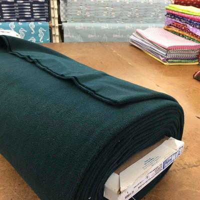 Hunter Green Fleece Fabric