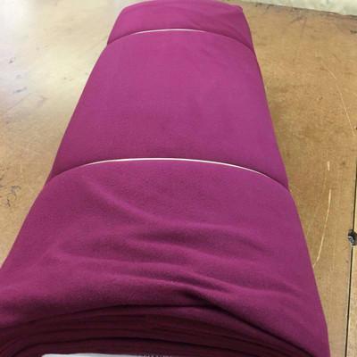 "60"" Wide Malden Mills Fleece Fabric in Raspberry"