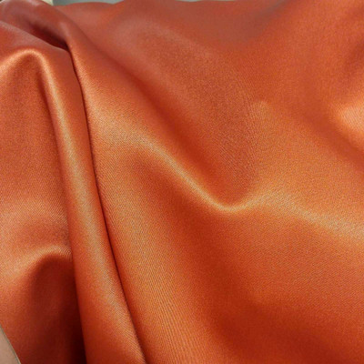 "Burnt Orange Basketweave Vinyl Upholstery Fabric By The Yard 54""W  Light Shine"