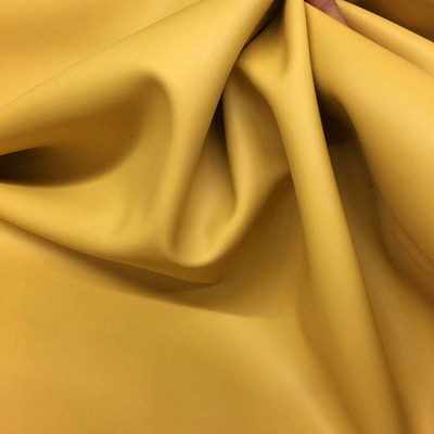 "Orange Yellow Marigold Faux Leather Vinyl Upholstery Fabric By The Yard 54""W"