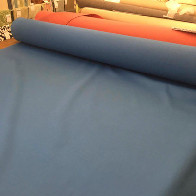 "Cyan Blue Cotton Twill Clothing / Drapery / Upholstery Fabric By The Yard 67""W"
