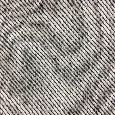 """Black and White Heavy Tweed Coating Weight Wool Fabric By The Yard 54""""W"""