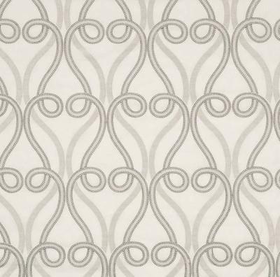 Robert Allen ORNATE SCROLL BLUE OPAL DRAPERY Fabric