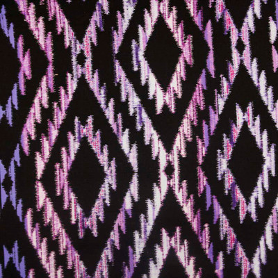 Tribal Blanket Purple Quilting Fabric