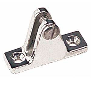 Vicar Stainless Steel Angled Deck Hinge with Bolt 66-35