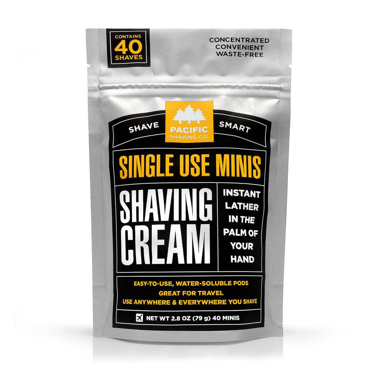 Single-Use Shaving Cream Minis