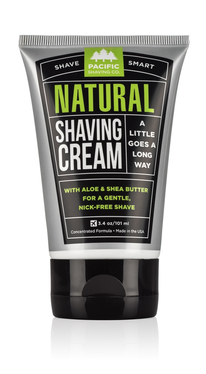 Natural Shaving Cream by Pacific Shaving Company
