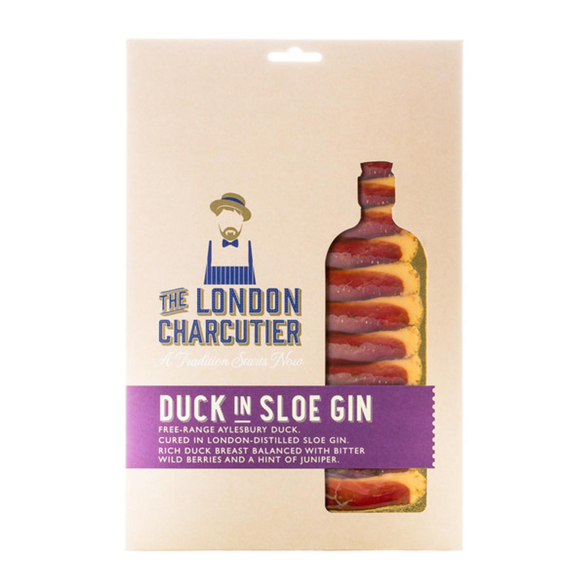 Cured Duck in Sloe Gin