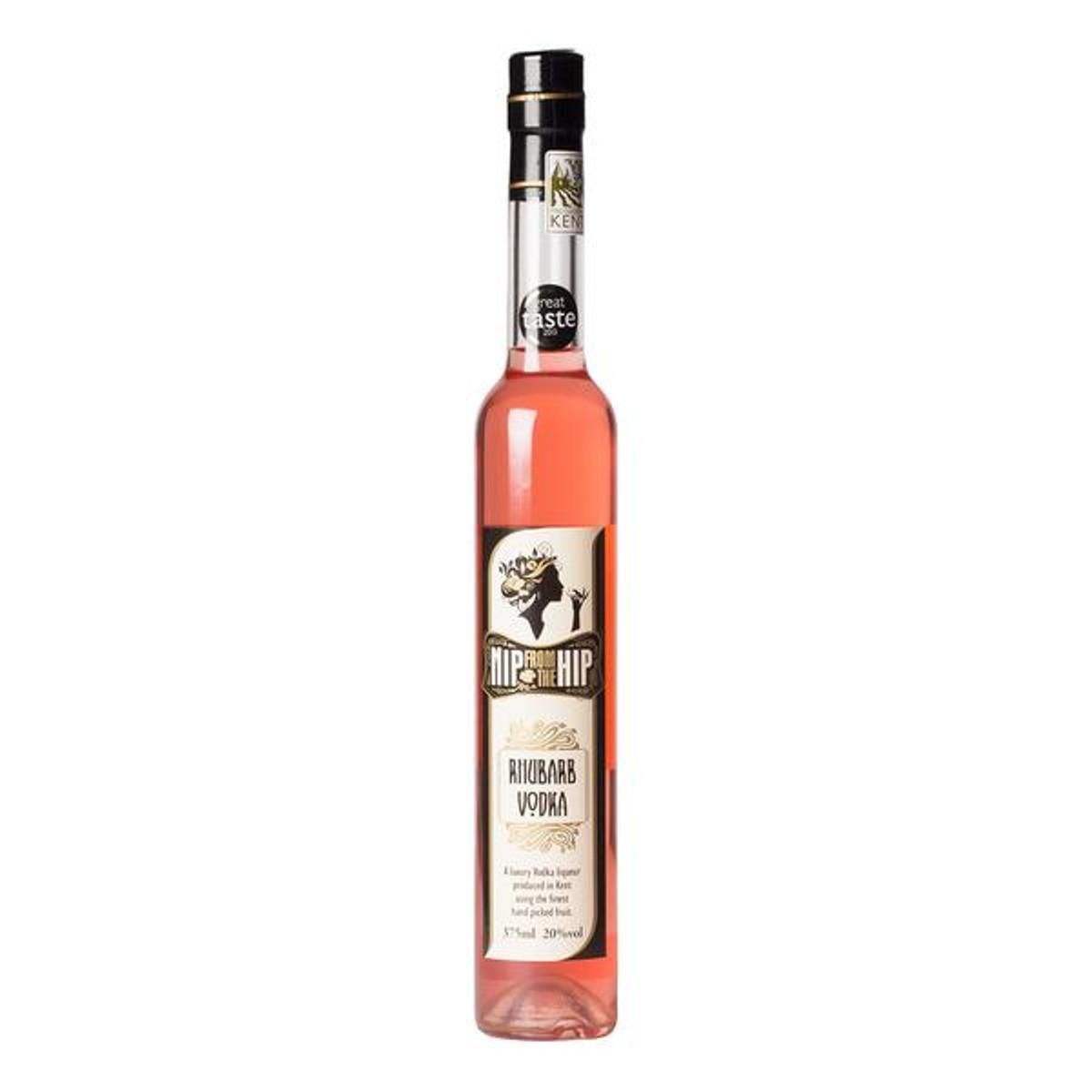 Rhubarb Vodka Liqueur