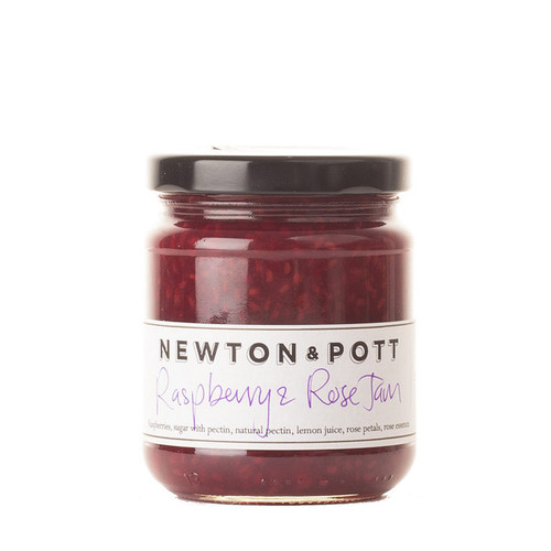 Raspberry & Rose Jam