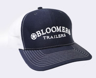Navy Cap with White Bloomer Trailers Logo