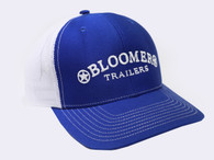 Royal Blue Cap with White Bloomer Trailers Logo