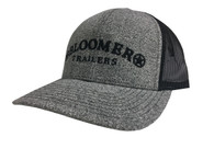 NEW! Heather Grey Jersey Cap with Black Bloomer Trailers Logo
