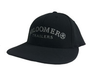 NEW! Black Youth FlexFit Performance Cap with Grey Bloomer Trailers Logo