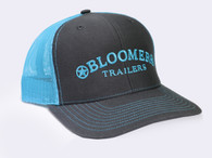 Charcoal Cap with Turquoise Bloomer Trailers Logo