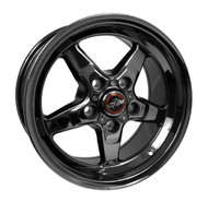 RACE STAR DARK STAR DRAG WHEEL 2005-2014 MUSTANG 15X8 DIRECT DRILL 92-580150-DSD