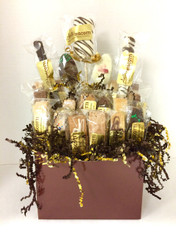 Large Special Occasion Biscotti Gift Basket