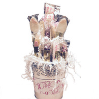 Breast Cancer Awareness Biscotti Gift Basket